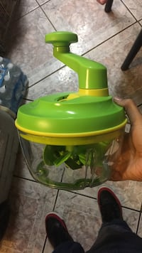 green and yellow manual juicer Merced, 95340