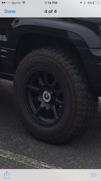 Rims and Tires. Came off Jeep Grand Cherokee with lift kit. Woodbridge, 22193