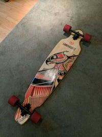 red and black snowboard with bindings Silver Spring, 20910