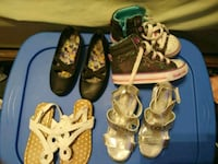 Girls size 11 shoe lot Myrtle Beach, 29577