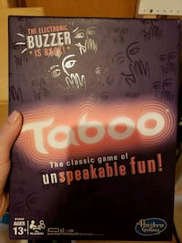 Taboo Board Game Fergus, N1M 1R2