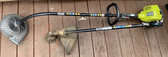 Ryobi gas trimmer and blower