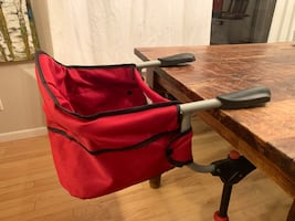 Chicco Caddy hook on high chair.