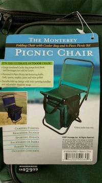 Camping chair and cooler St. Albert, T8N 5K1