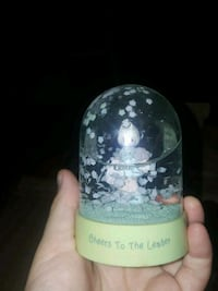 Precious Moment snowglobe- Cheers To The Leader  Farmington Hills, 48336