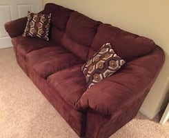 Nice couch micro fiber super soft. Smoke free and no pet home.