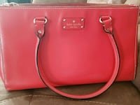 women's red leather tote bag Kitchener, N2A 0B5