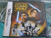 Star Wars the Clone Wars Republic Heroes DS Game Whitchurch-Stouffville, L4A 0J5
