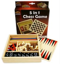 5 in 1 chess game free with purchase! Brooklyn, 11207