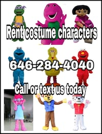 Rent costume Characters Rahway
