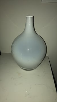 White ceramic vase - from IKEA Vaughan, L0J 3X3