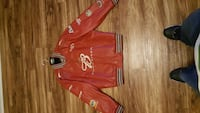 Dale Jr leather collectable coat