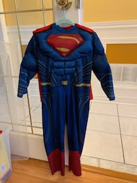 Superman halloween costume. Muscle chest and arms. Brampton, L6Y 5B6