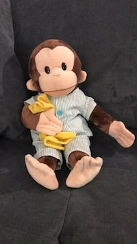 Curious George Stuffed Animal Los Angeles, 90016