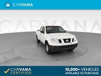 2014 Nissan Frontier King Cab pickup S Pickup 2D 6 ft White <br Jeffersontown