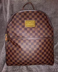 Used Louis Vuitton brown damier backpack for sale in Eatontown - letgo 127196dd73265