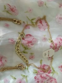 gold-colored chain necklace Los Angeles, 91367
