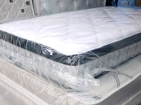 Luxury new organic double / full mattress. eurotop midum firm. Deliver Edmonton, T5A 4H3
