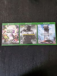 Used Xbox One Games all 3 $50 New York