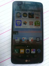 black LG android smartphone with case Arlington, 76012