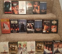 Free - 2 boxes of vhs (a few are missing)  Available for pick-up in Newmarket outside beside my house.  Please take them all.