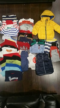 Boys age 3 clothes total 33 items 40$