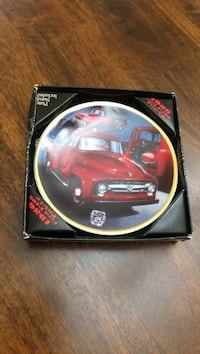 Red 1956 ford f-100 printed decorative plate Vienna, 22181