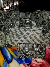Guess purse plus wallet