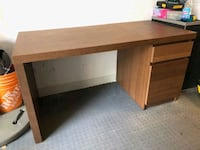IKEA Malm Desk Brown Toronto, M1L 0H1