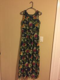 Multi colored maxi dress. Size- M