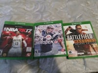 Xbox one games  Woonsocket, 02895