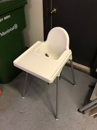 Ikea feeding chair with tray Montreal, H8Z 1Y5