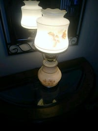 white and brown table lamp Fairhope, 36532