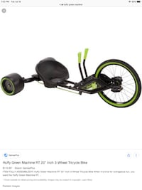 Youth huffy green machine  Ancaster, L9G 2R9
