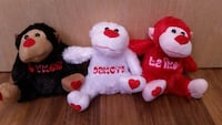 3 monkey plush toy Houston, 77027