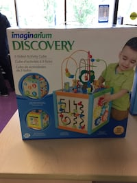 imaginarium discovery 5 slided activity cube North Vancouver, V7M 3M1