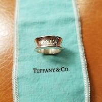 Tiffany and Co. Ring Sterling Silver 925 Size 8 Fullerton, 92833