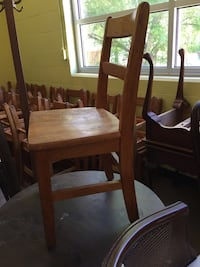 PRICE REDUCTION Children's chairs - wood Norfolk, 23502