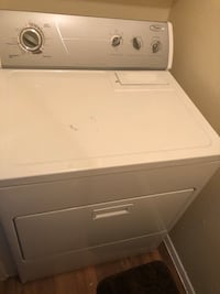 white front-load clothes washer Grand Prairie, 75050