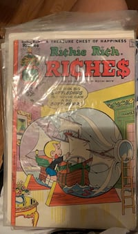 Richie rich comic book