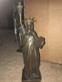 Brass Statue of Liberty