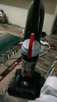 black and red upright vacuum cleaner London, N6B 3G6