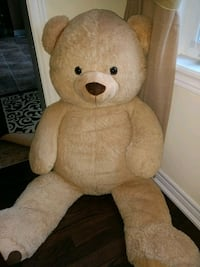 brown and white bear plush toy Brampton, L6X 0C7