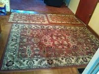 Two large rugs two smaller rugs La Salle, 80645