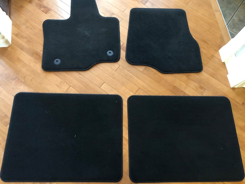 2019 Ford F-150 Supercab floor mats carpeted brand new! 262eaf9a-fa85-40fd-8aaf-55f45deb256a