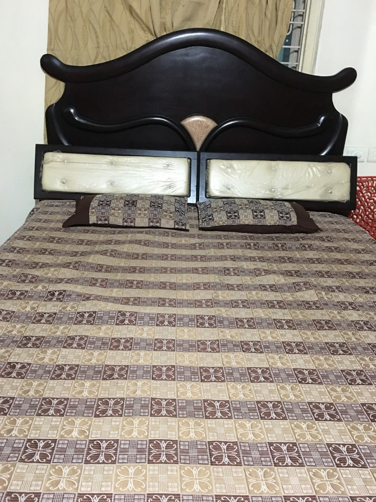 used king size bed with 10 inches mattress superb condition with rh se letgo com