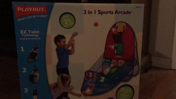 Play hut 3 in 1 Sports Arcade