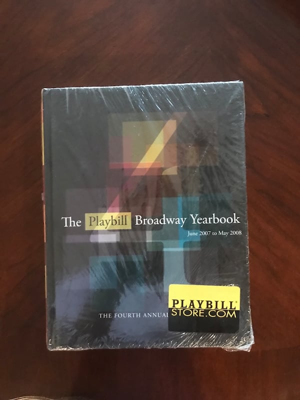 Broadway yearbook 4th edition (still in plastic) fa4d48d3-81af-41bf-a93e-bddaf3a0d445