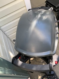 Electric Weber grill
