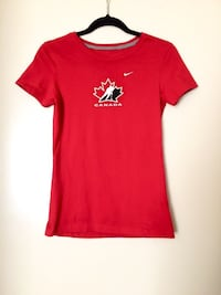 Team Canada T-Shirt - Women's Size Small Edmonton